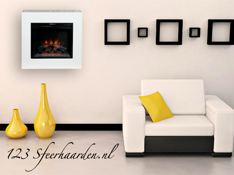Classicflame Simo wit wandhaard