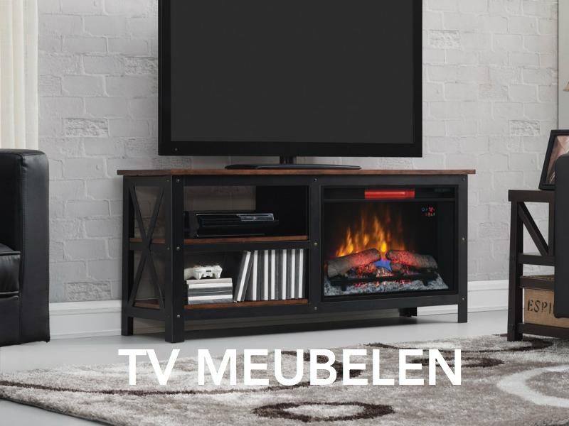 tv meubelen met sfeerhaard