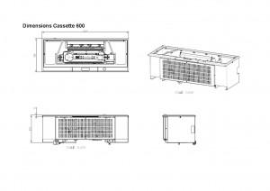 Faber Cassette 600 inzethaard