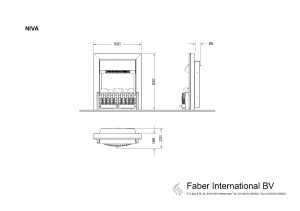 Faber Niva voorzethaard