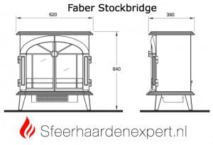 technische tekening stockbridge opti-myst mysticfire