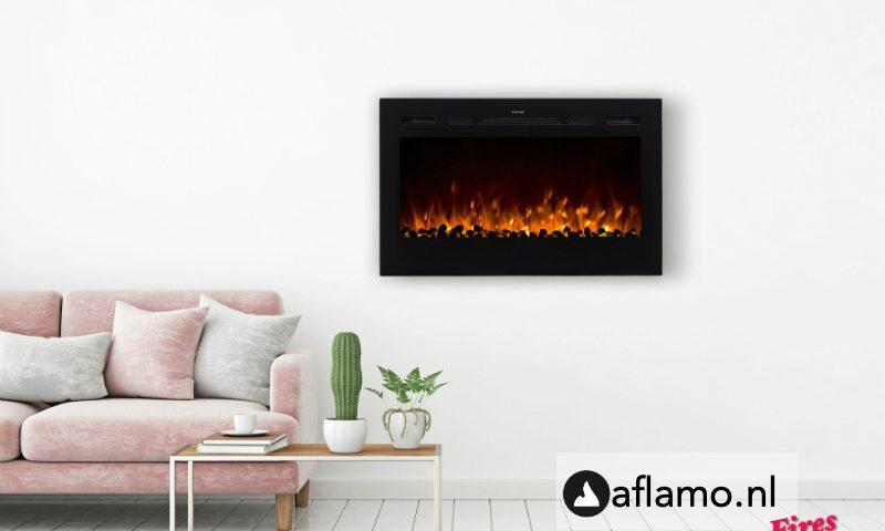 Dimplex prism elektrische inbouwhaard Noble Flame Paris 920mm met kacheltje