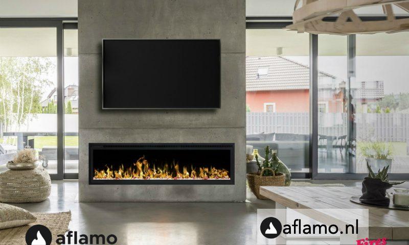 Dimplex Ignite elegante elektrische inbouwhaard Noble Flame 1830 met verwarming